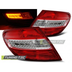 LDME35 MERCEDES C-CLASS W204 SALOON 07-10 RED WHITE LED