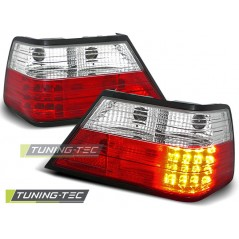 LDME02 MERCEDES W124 E-CLASS 01.85-06.95 RED WHITE LED