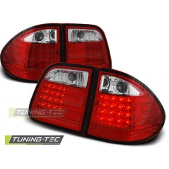 LDME10 MERCEDES W210 E-CLASS 95-03.02 ESTATE RED WHITE LED