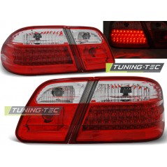 LDME28 MERCEDES W210 95-03.02 RED WHITE LED