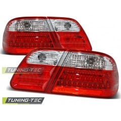LDME01 MERCEDES W210 95-03.02 RED WHITE LED