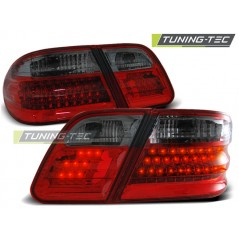 LDME08 MERCEDES W210 E-CLASS 95-03.02 RED SMOKE LED