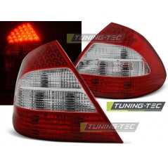 LDME19 MERCEDES W211 E-CLASS 03.02-04.06 RED WHITE LED