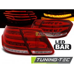 LDME95 MERCEDES W212 E-CLASS 09-13 RED WHITE LED