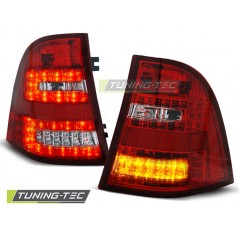 LDME21 MERCEDES W163 ML M-CLASS 03.98- 05 RED WHITE LED