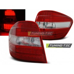 LDME45 MERCEDES M-CLASS W164 05-08 RED WHITE LED