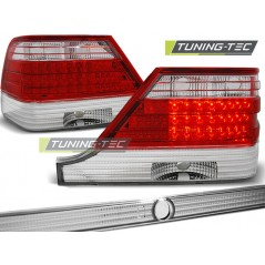 LDME30 MERCEDES W140 95-10.98 RED WHITE LED