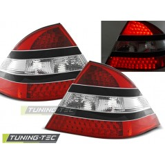 LDME07 MERCEDES W220 S-CLASS 09.98-05.05 RED BLACK LED