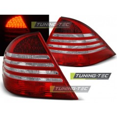 LDME48 MERCEDES W220 S-CLASS 09.98-05.05 RED WHITE LED