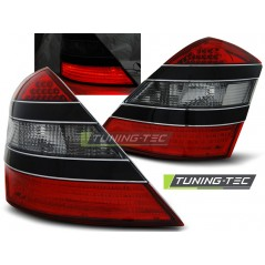 LDME80 MERCEDES W221 S-CLASS 05-09 RED SMOKE BLACK LED
