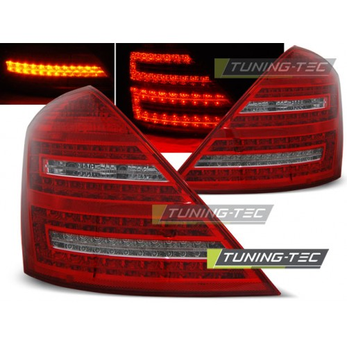LDME50 MERCEDES W221 S-CLASS 05-09 RED WHITE LED