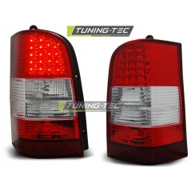 LDME32 MERCEDES VITO V-CLASS W638 96-03 RED WHITE LED