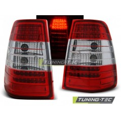 LDME25 MERCEDES W124 E-CLASS ESTATE 09.85-95 RED WHITE LED