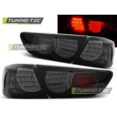 LDMI07 MITSUBISHI LANCER 8 SALOON 08-11 BLACK SMOKE LED