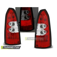 LDOP09 OPEL ASTRA G 09.97-02.04 ESTATE RED WHITE LED