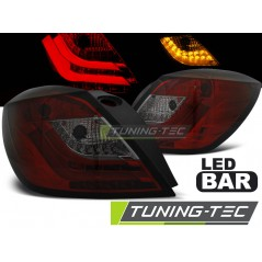 LDOP49 OPEL ASTRA H 03.04-09 3D GTC RED SMOKE LED
