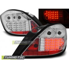 LDOP11 OPEL ASTRA H 03.04-09 5D CHROME LED