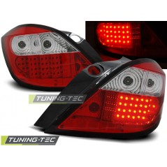 LDOP12 OPEL ASTRA H 03.04-09 RED WHITE LED