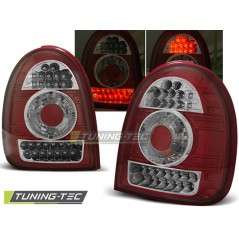 LDOP19 OPEL CORSA B 3D 02.93-10.00 RED WHITE LED
