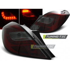 LDOP36 OPEL CORSA D 3D 04.06- RED SMOKE LED