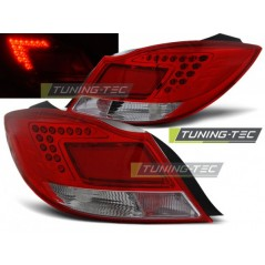 LDOP28 OPEL INSIGNIA 08- 4D/HB RED WHITE LED