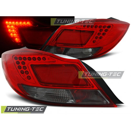 LDOP29 OPEL INSIGNIA 08-12 4D/HB RED SMOKE LED