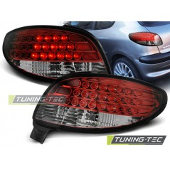 LDPE07 PEUGEOT 206 10.98- RED WHITE LED