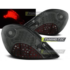 LDPE17 PEUGEOT 207 3D/5D 05.06-06.09 SMOKE LED