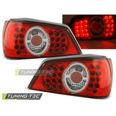 LDPE16 PEUGEOT 306 02.93-03.01 RED WHITE LED