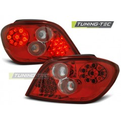 LDPE02 PEUGEOT 307 04.01-07 RED WHITE LED