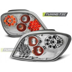 LDPE03 PEUGEOT 307 04.01-07 CHROME LED