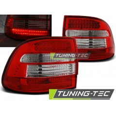 LDPO01 PORSCHE CAYENNE 02-06 RED WHITE LED