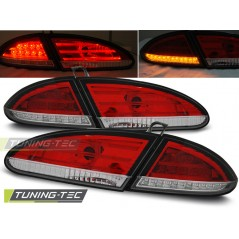 LDSE11 SEAT LEON 06.05-09 RED WHITE LED