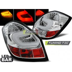 LDSK05 SKODA FABIA II 07-06.14 CHROME LED BAR