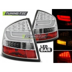 LDSK10 SKODA OCTAVIA II SALOON 03.04- CHROME LED BAR
