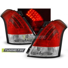LDSI02 SUZUKI SWIFT 05.05-10 RED WHITE LED