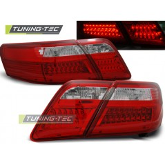 LDTO04 TOYOTA CAMRY 6 XV40 06-09 RED WHITE LED
