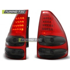 LDTO08 TOYOTA LAND CRUISER 120 03-09 RED SMOKE LED