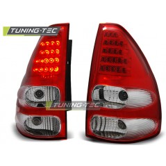 LDTO07 TOYOTA LAND CRUISER 120 03-09 RED WHITE LED