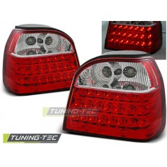 LDVW10 VW GOLF 3 09.91-08.97 RED WHITE LED
