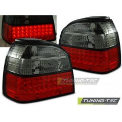 LDVW36 VW GOLF 3 09.91-08.97 RED SMOKE LED