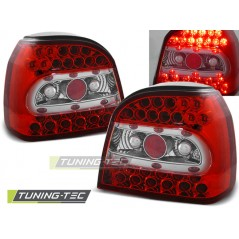 LDVW13 VW GOLF 3 09.91-08.97 RED WHITE LED