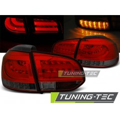 LDVWD0 VW GOLF 6 10.08-12 RED SMOKE LED BAR