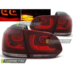 LDVW70 VW GOLF 6 10.08-12 RED WHITE LED