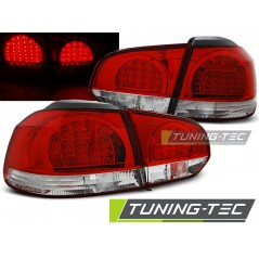 LDVWB5 VW GOLF 6 10.08-12 RED WHITE LED