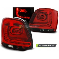 LDVWB3 VW POLO 09-13 RED SMOKE LED