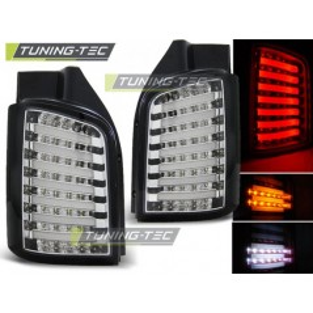 LDVW87 VW T5 04.03-09 / 10- CHROME BLACK LED