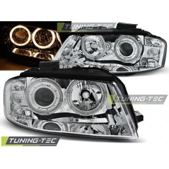 LPAU77 AUDI A3 8P 05.03-03.08 ANGEL EYES CHROME