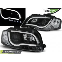 LPAU98 AUDI A3 8P 05.03-03.08 LED TUBE LIGHTS BLACK