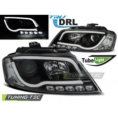 LPAUA0 AUDI A3 8P 08-12 BLACK TUBE LIGHT TRU DRL
